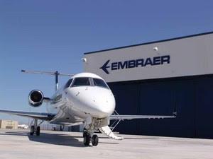 Embraer (Foto: Divulgação/Embraer)