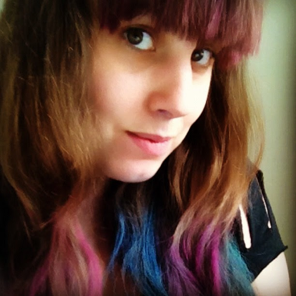 Hair chalking!!! #color
