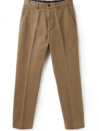 Austin Reed Neutral Moleskin Trousers