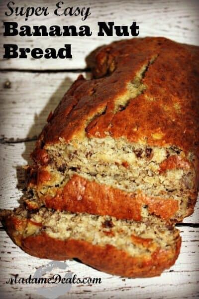 Easy Banana Nut Bread Recipe - Real Advice Gal