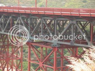 Strength of construction under the bridge