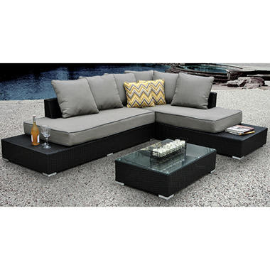 Soho Sectional with Premium Sunbrella® Fabric Review ...