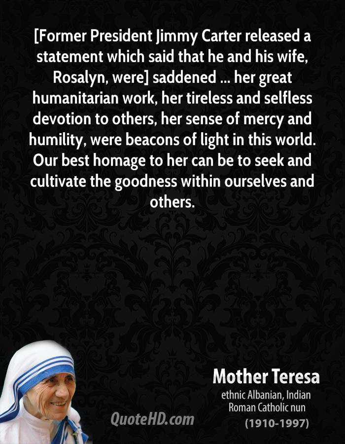 Mother Teresa Wife Quotes Quotehd