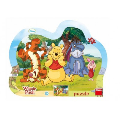 Frame Puzzle Winnie The Pooh Dino 31132 25 Pieces Jigsaw Puzzles