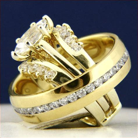 home improvement. Wedding rings sets for him and her