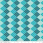 Indie Chic - Checkers In Blue