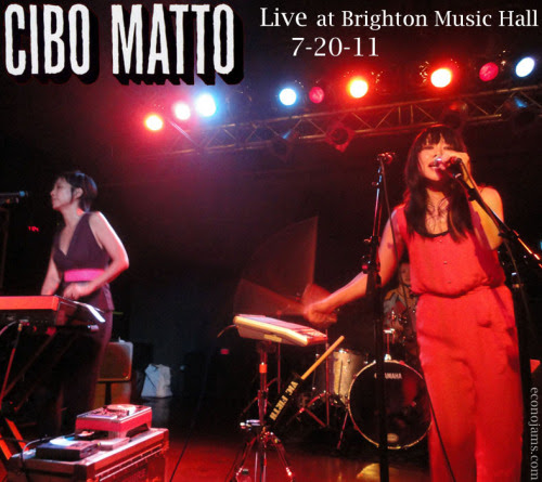 Indie Selections For Your Erections: Recording: Cibo Matto