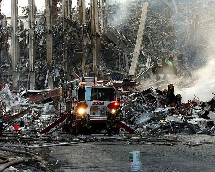 File:World Trade Center collapsed following the Sept. 11 terrorist attack September 16 2001.jpg
