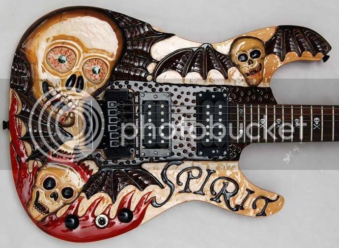 Hideous Halloween Guitar