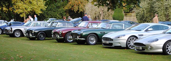 Record Breaking Aston Martin Concours Just British