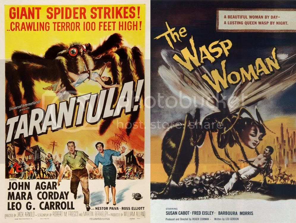Tarantula, The Wasp Woman