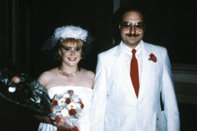 Anne Henderson Pollard and Jonathan Pollard at their wedding Aug. 9, 1985, in Italy.