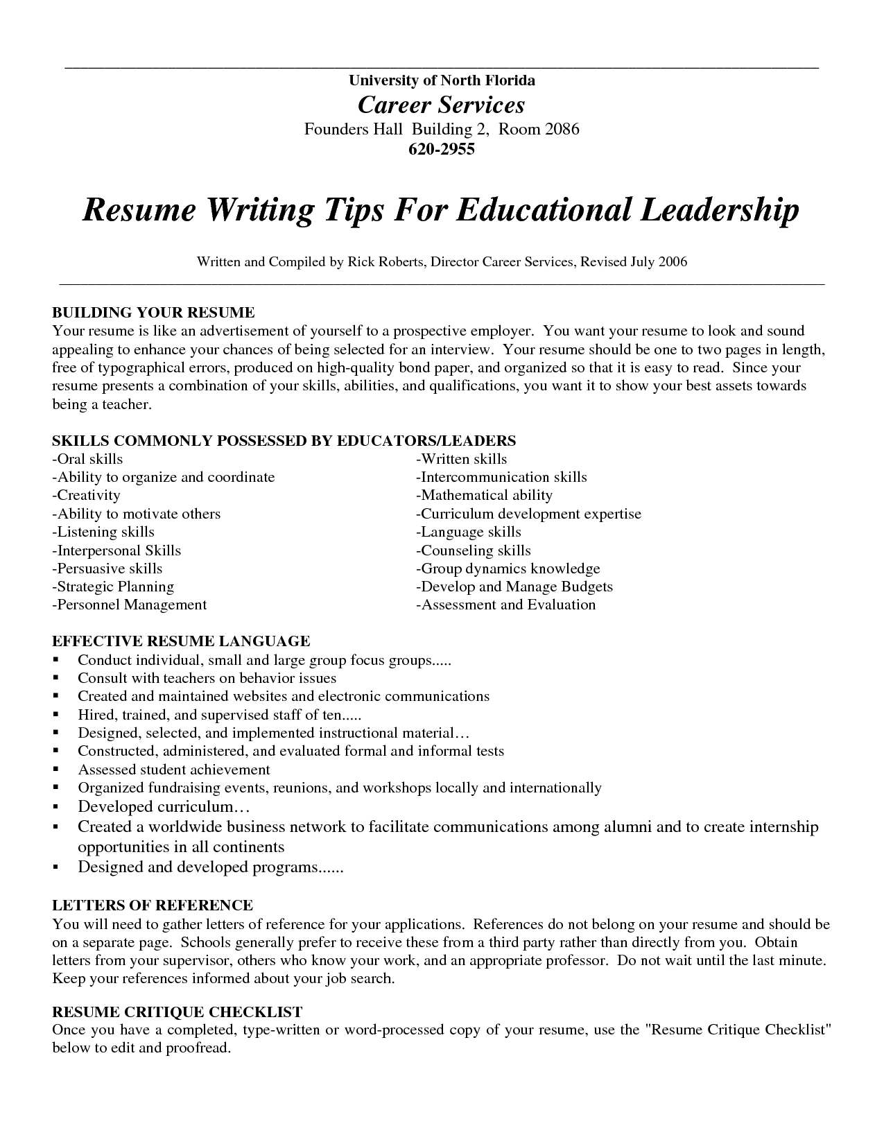 Diy resume writing