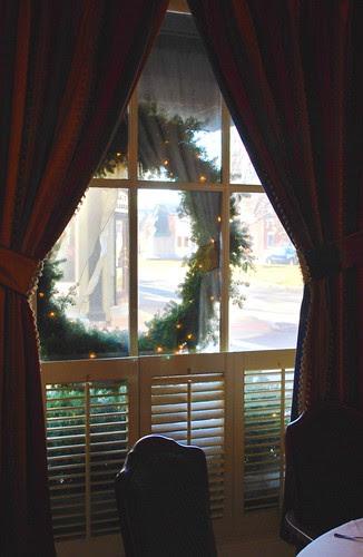Wreath in a Window