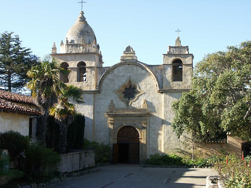 File:Carmel Mission - Entrance.JPG