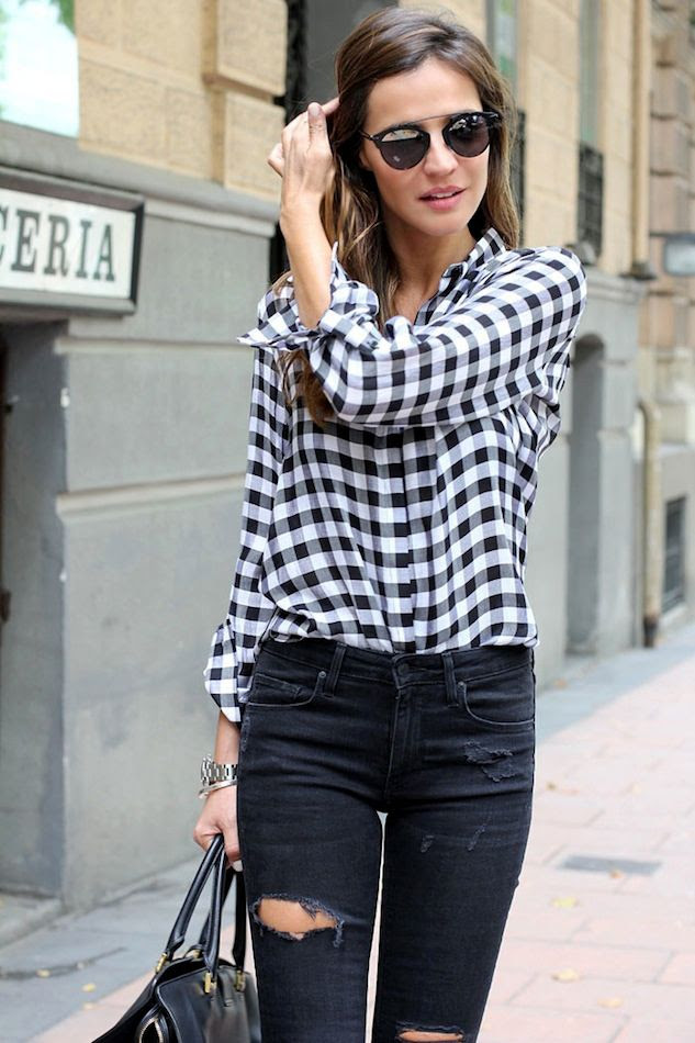 Le Fashion Blog How To Wear Gingham Button Down Shirt Black Ripped Jeans Dior So Real Sunglasses Via Lady Addict photo Le-Fashion-Blog-How-To-Wear-Gingham-Button-Down-Shirt-Black-Ripped-Jeans-Dior-So-Real-Sunglasses-Via-Lady-Addict.jpg