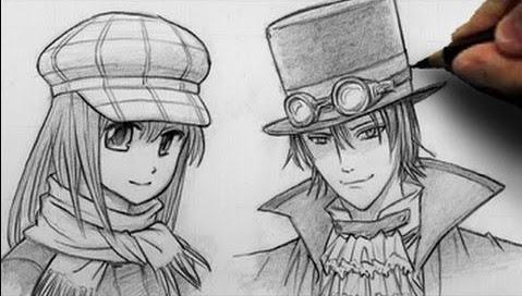 9100 Koleksi Gambar Anime Keren Dari Pensil Gratis