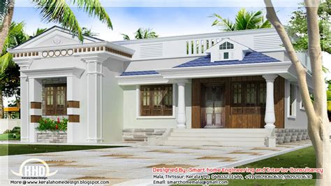 story bungalow floor plans kerala style single storey