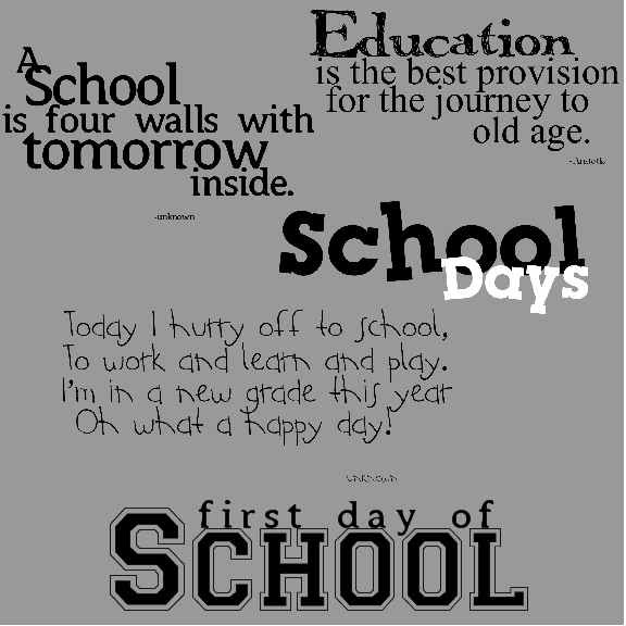 Quotes About School Days 84 Quotes
