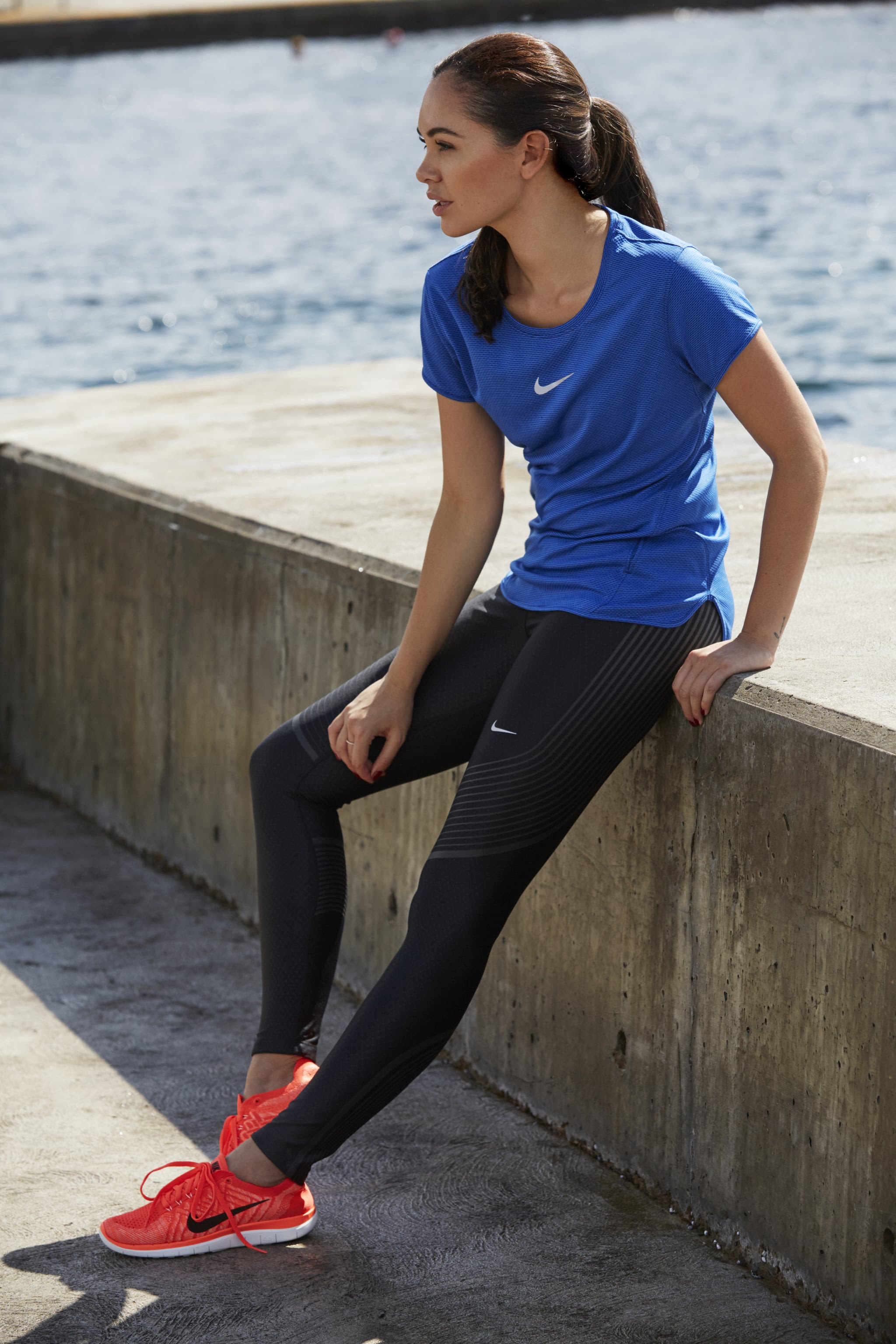 this outfit is from nike women's running collection