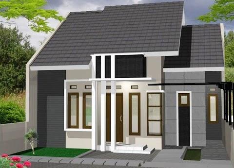 Mini Malis Rumah Minimalis 1 Lantai Tampak Depan