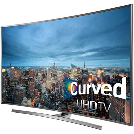 Samsung UN50JU7500 - 50-Inch Curved 4K 120hz Ultra HD Smart 3D LED HDTV