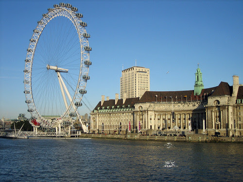 11/9: London Eye and Custom House