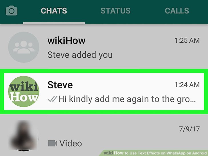 Use Text Effects on WhatsApp on Android Step 2.jpg