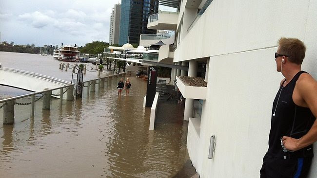 Queensland Floods - Brisbane river