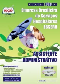 Apostila Concurso EBSERH HUB-UnB 2016, Assistente Administrativo.