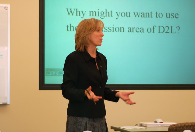 Heidi teaching
