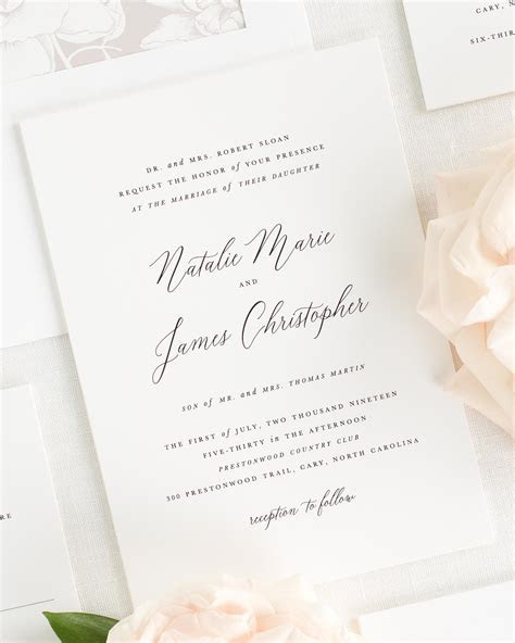 2018 Wedding Invitations   Shine Wedding Invitations
