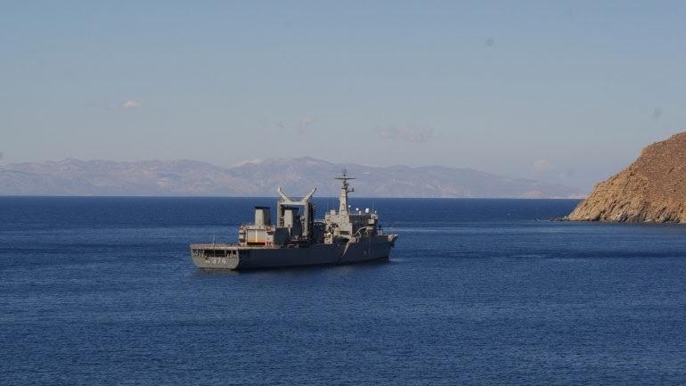 Στα ακριτικά νησιά πλοίο του Πολεμικού Ναυτικού