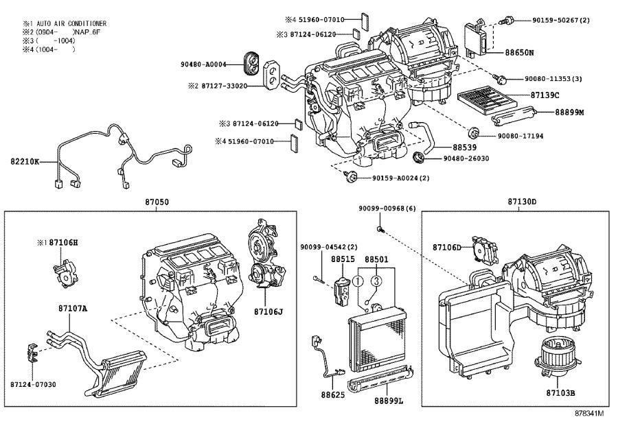 34 2009 Toyota Camry Parts Diagram