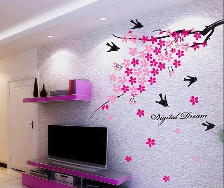 Jual Wall Art Murah : Jual wall sticker transparan stiker dinding murah