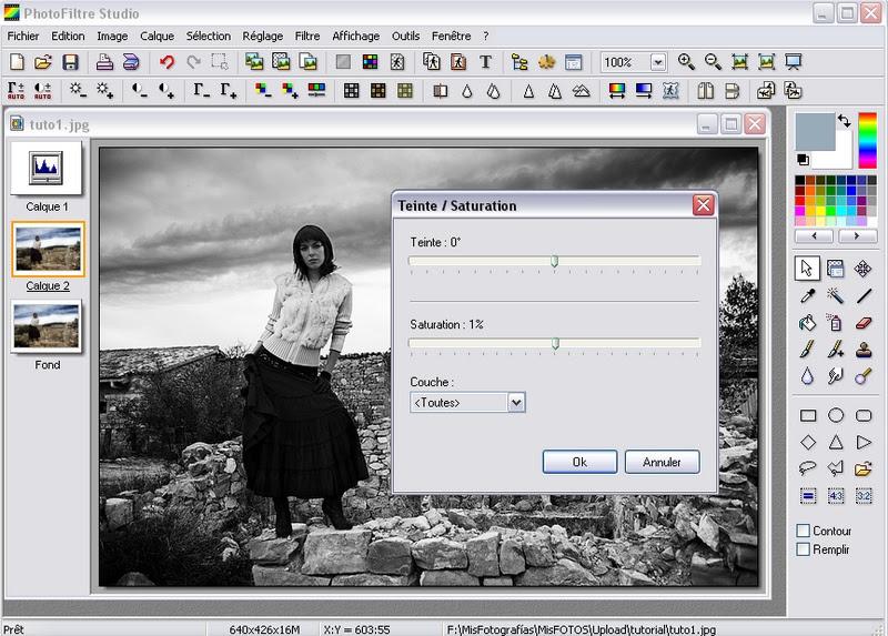Photofiltre Afficher Le Sujet Conversion Simple Et
