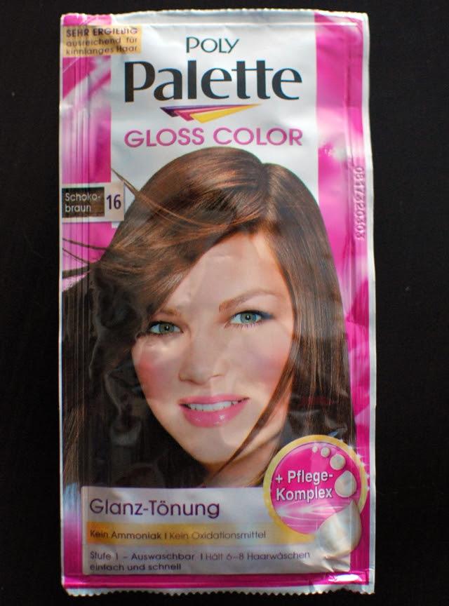 Poly Palette Gloss Color 16 Schokobraun
