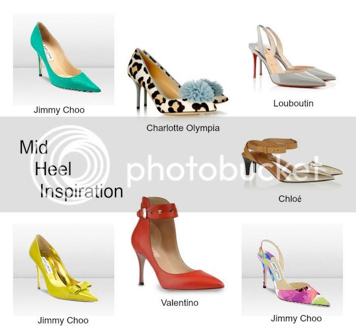 Mid Heel Inspiration