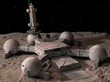 Moonbase Alpha: new homes for the rich