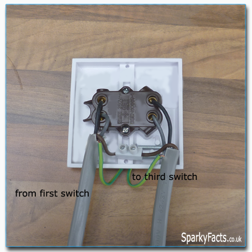 Two Way And Intermediate Lighting Circuit Wiring Am2 Exam Sparkyfacts Co Uk