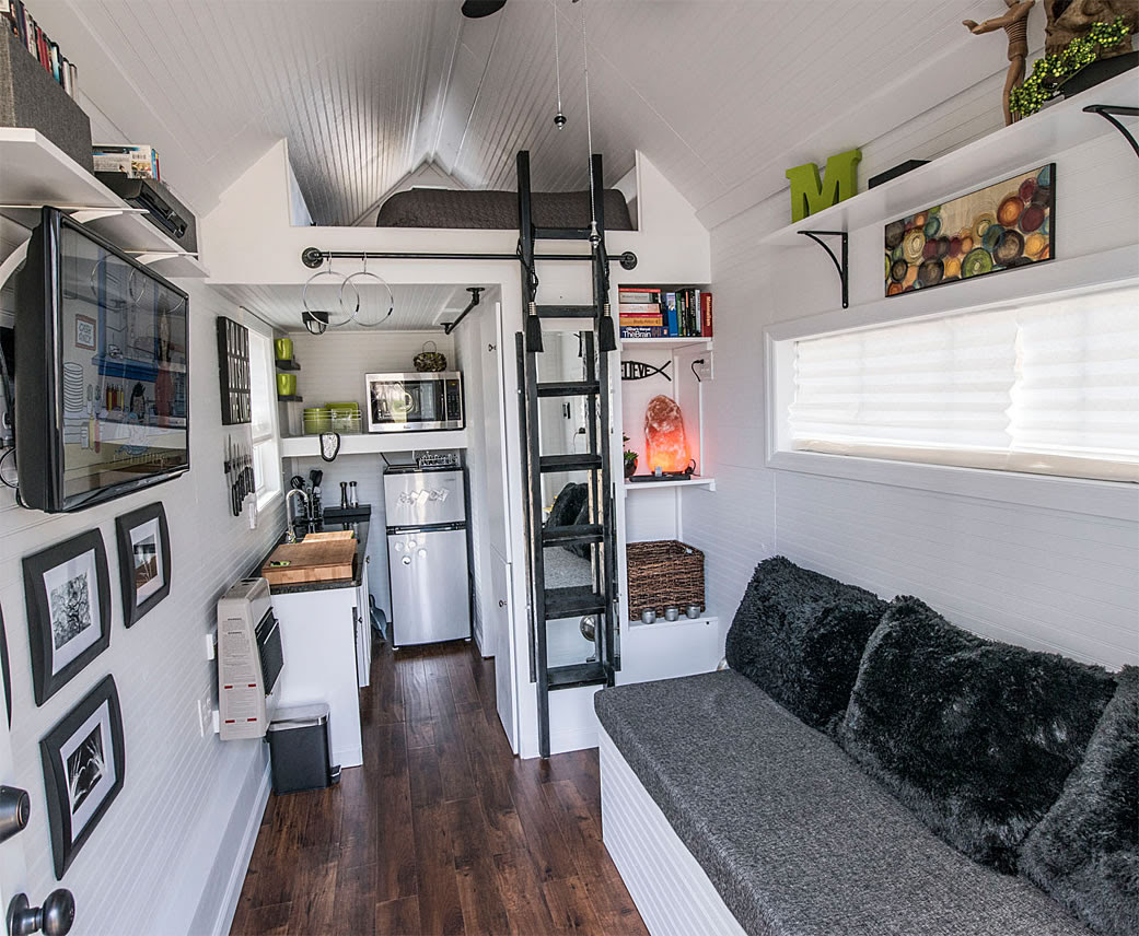 How to Furnish a Small House in Industrial Style ...