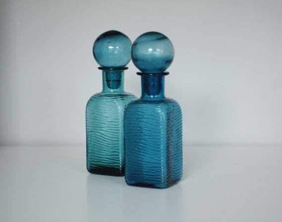 Pair of Italian Decanters