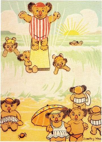 (IN) Tommy Bear and the Zookies by Dorothy Wall, 1920