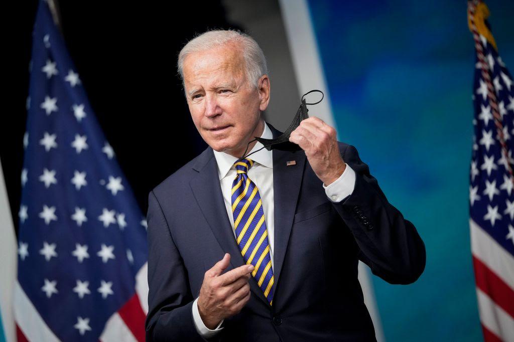 Biden says private-sector COVID-19 vaccine mandate will take effect 'soon'