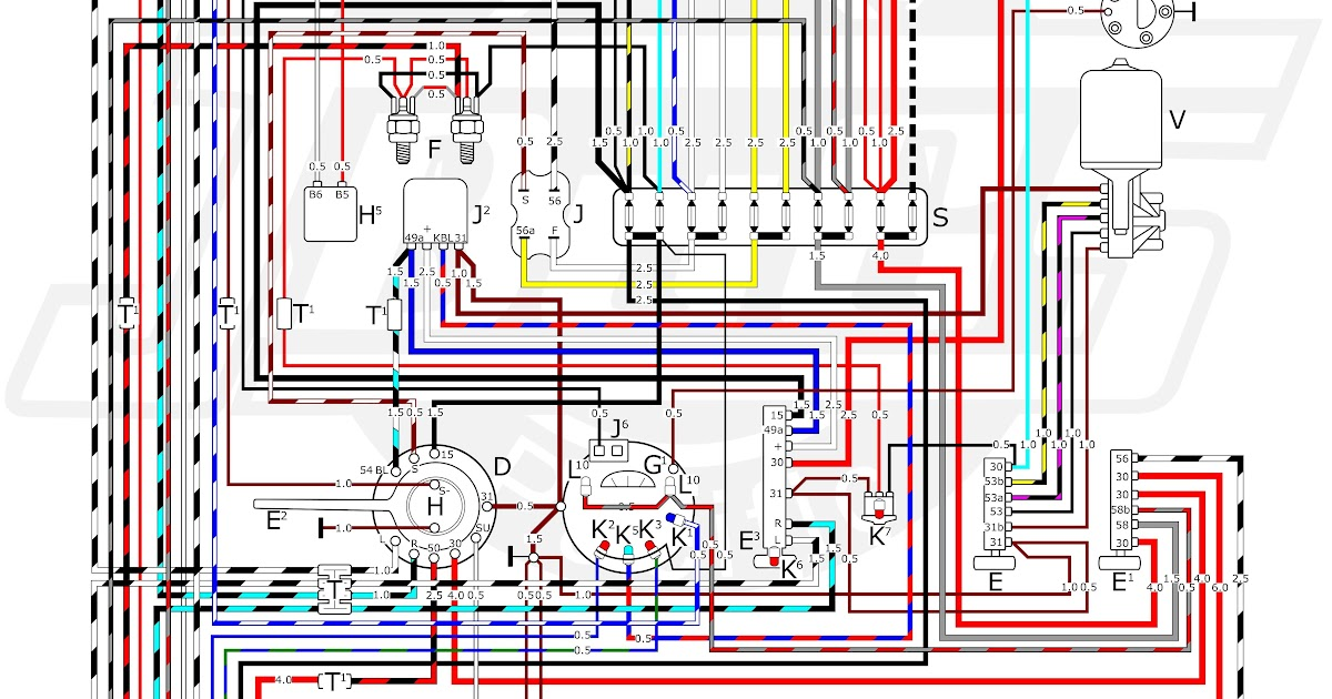 69 Mustang Ignition Switch Wiring Diagram