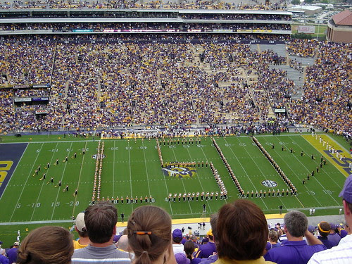 Yes, LSU!