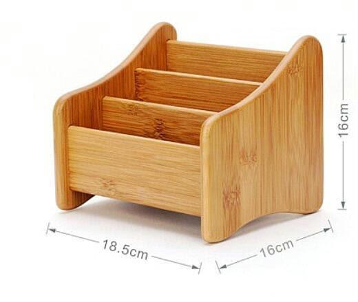 Buy oak desk remote controller holder organizer home or