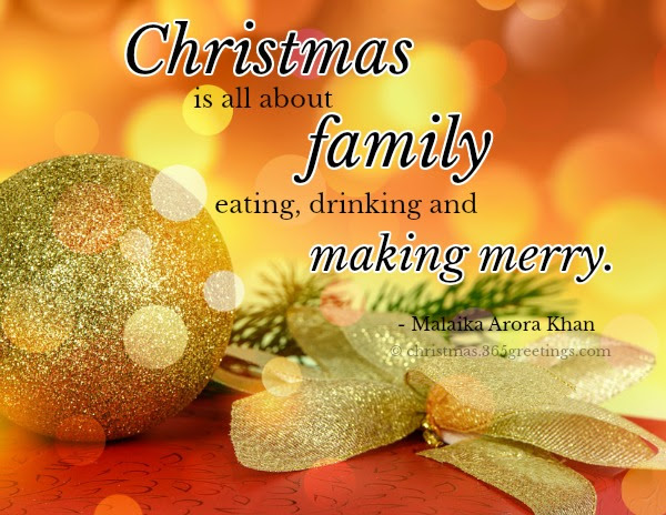Christmas Family Quotes And Sayings Christmas Celebration All About Christmas