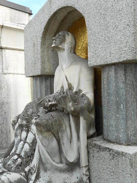 Pietà Virgilio Milani tomba Giandoso
