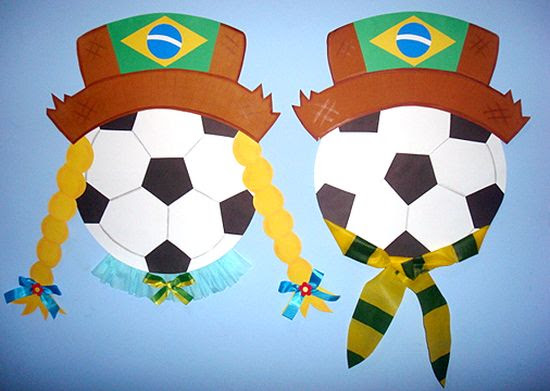 Lembranca Para Festa Junina Da Copa Do Mundo Artesanato Passo A Passo